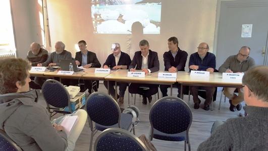 Annonce du lancement des travaux du projet Nouveau Poutès - Conférence de presse