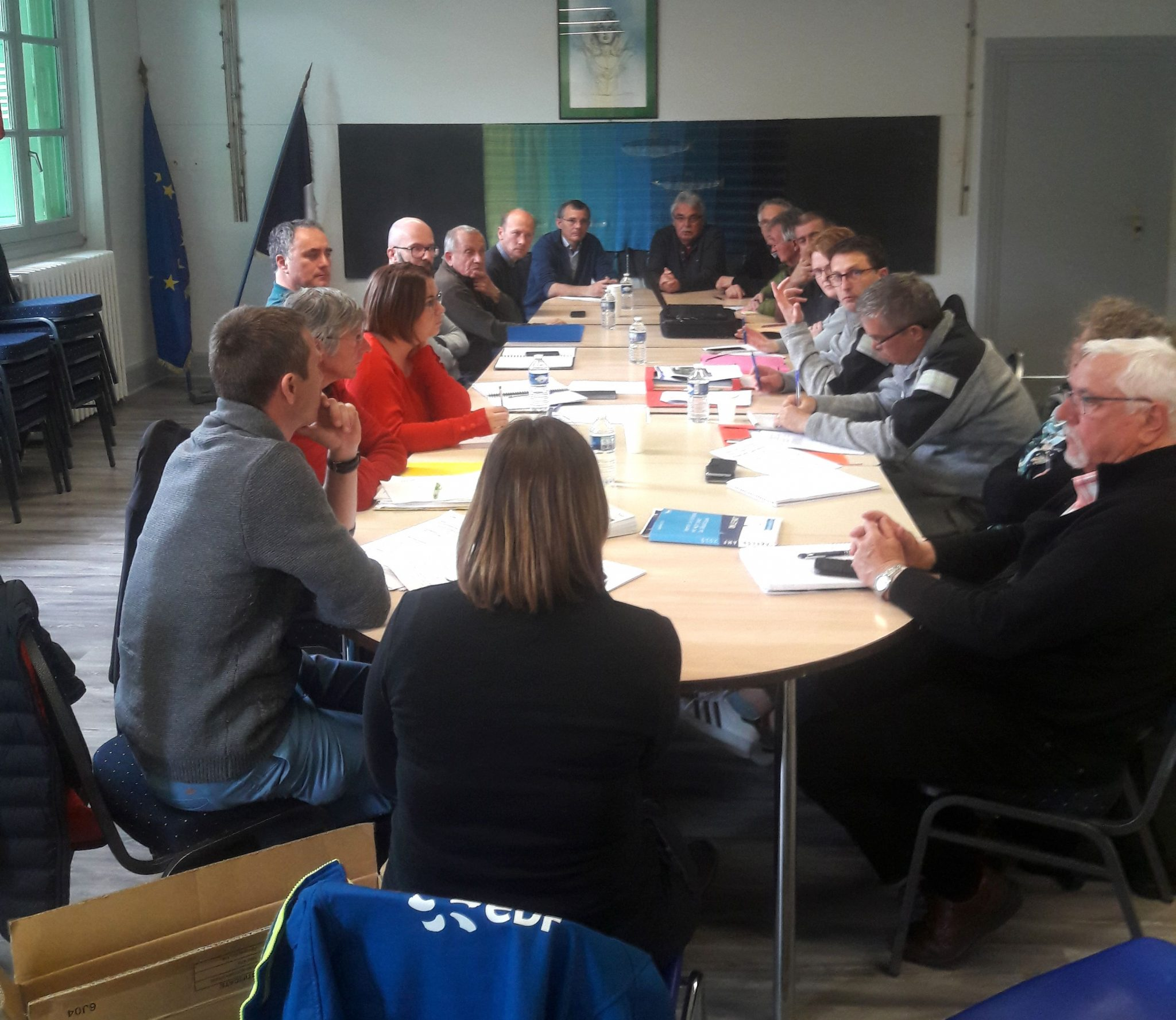 Travaux de Poutès : Le comité de pilotage s'est réunit en ce début de vidange