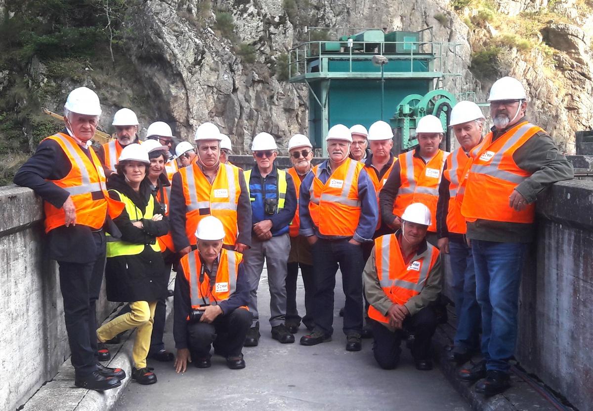 Visite du chantier en ce jeudi 5 septembre